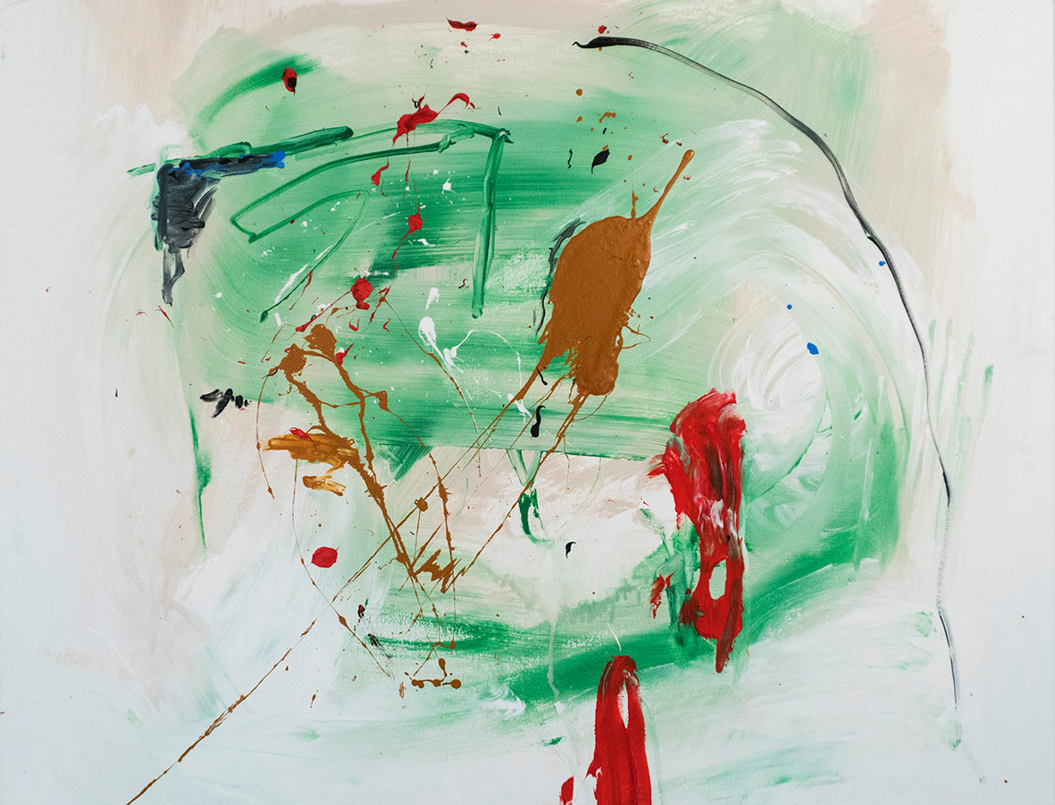 Licking Wounds 100x100cm