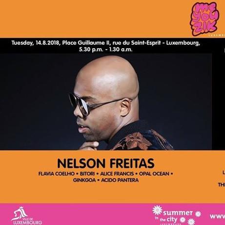 NELSON FREITAS   ME YOU ZIK FESTIVAL