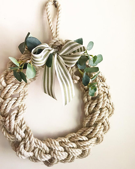 Hemp Rope Wreath