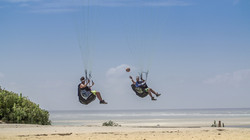 Don't Try This At Home Multisport Pargliding Pyla Basket Martin Schricke with  Francois Ragolski
