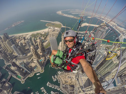 Francois Ragolski Dubai Marin Skydive Princesse tower
