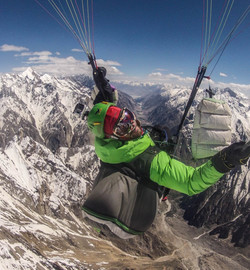 Pakistan expe Karakoram Ragolski Francois at 6500m 2