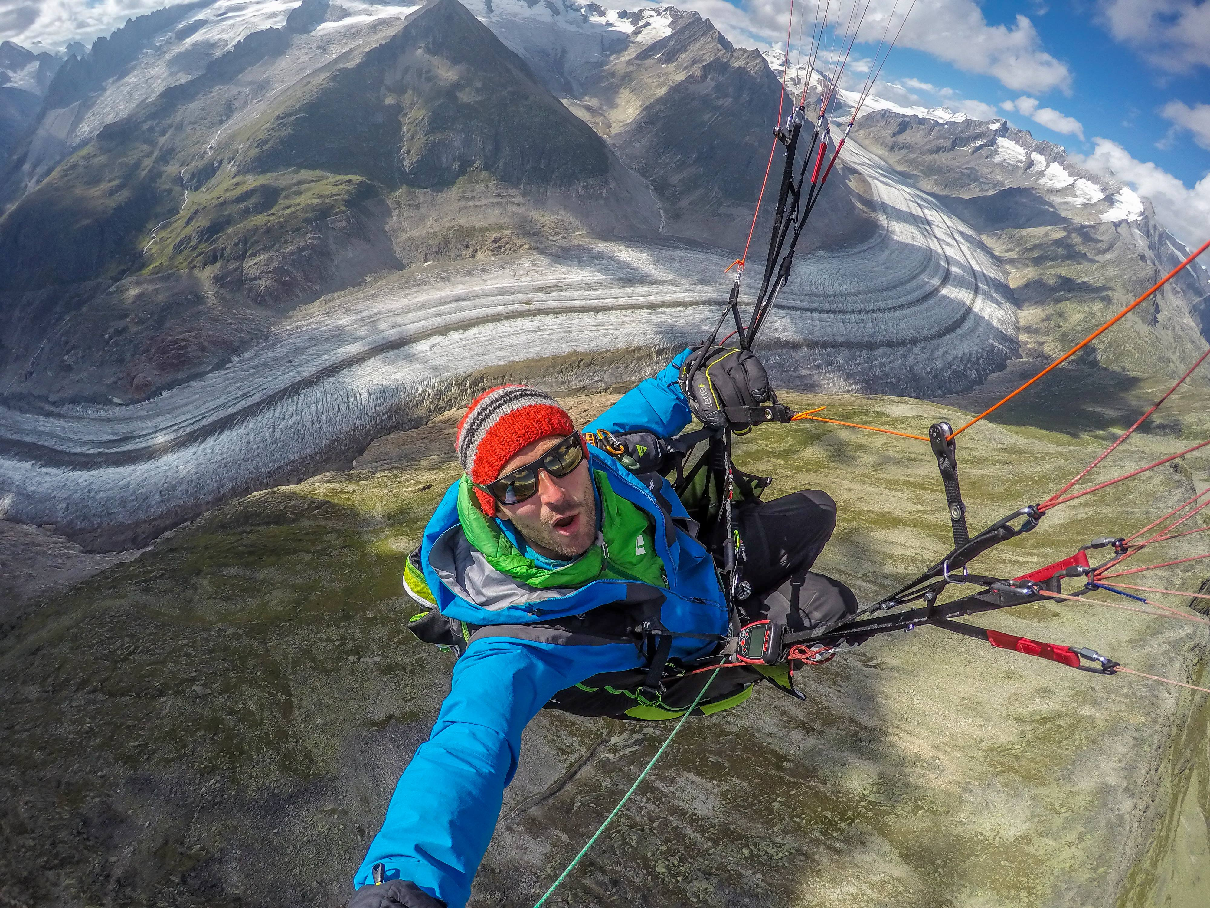 The Alpine Paragliding Line