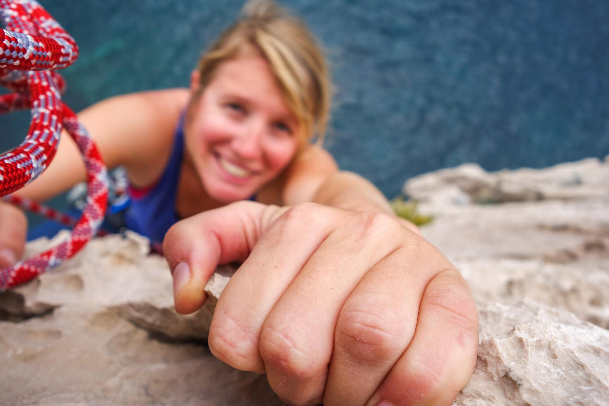 Loraine escalade croatie 6