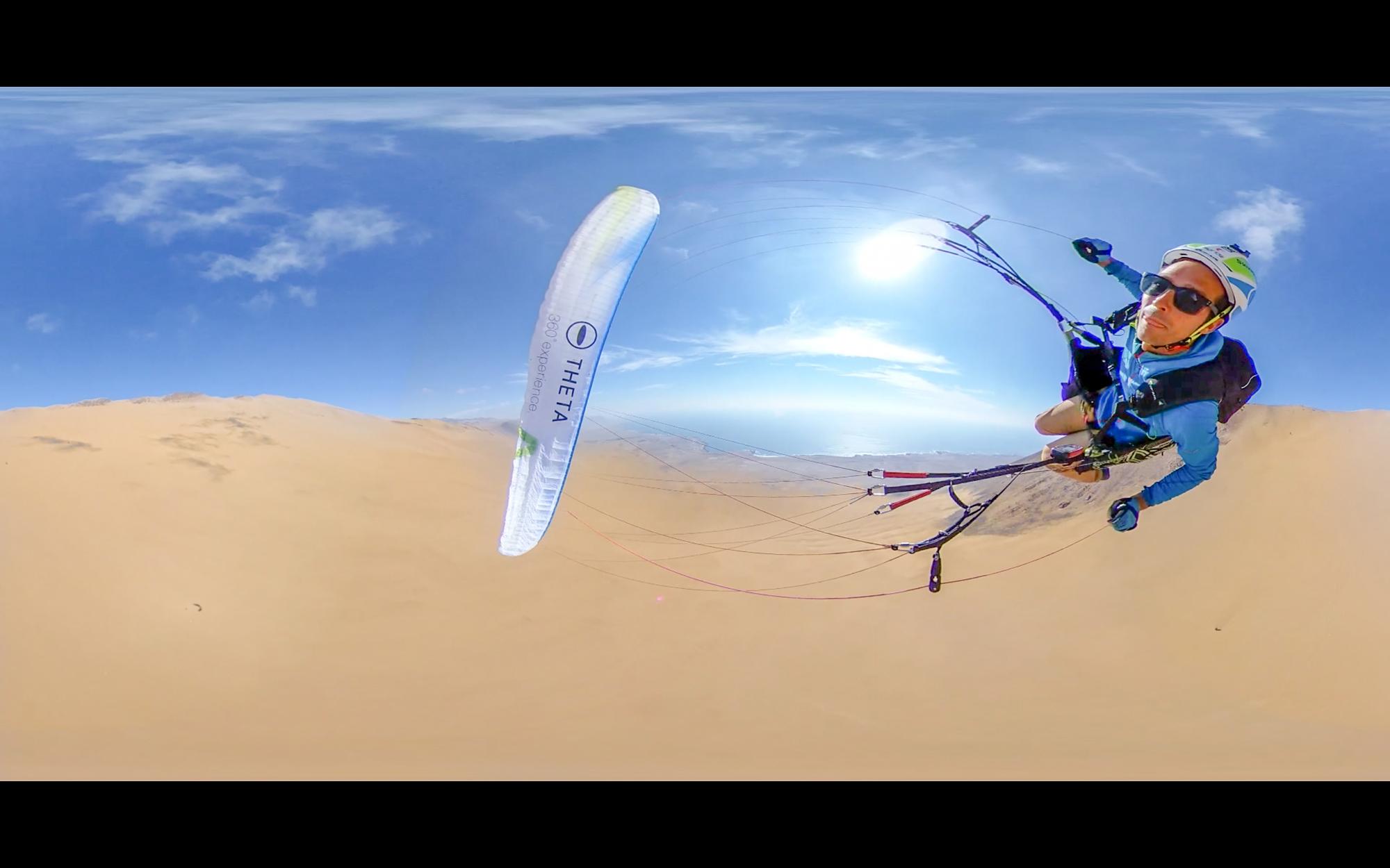 Chile Paragliding Francois ragolski Theta V Ricoh Skywalk Syride supair