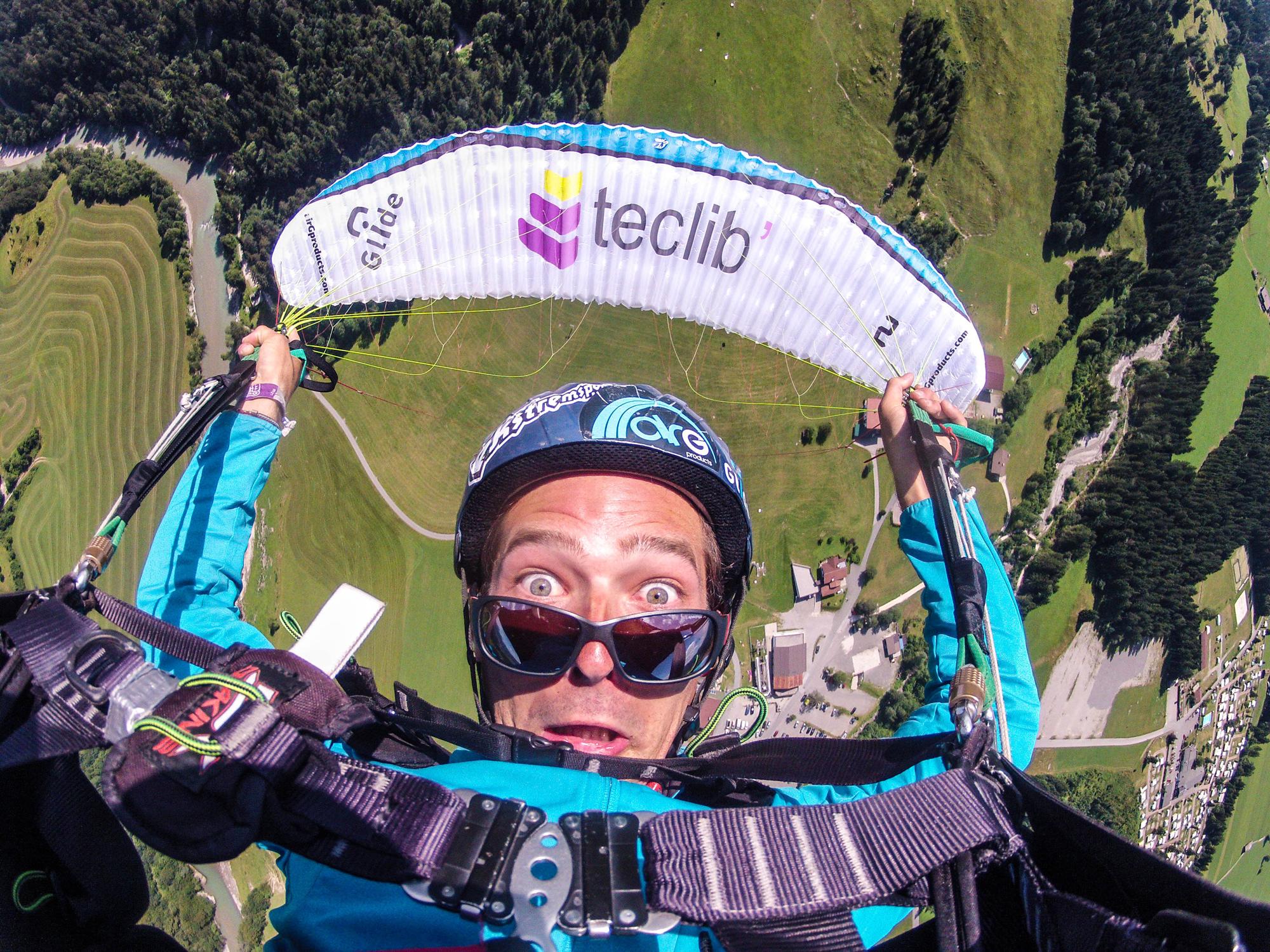 Infinity selfie Francois Ragolski