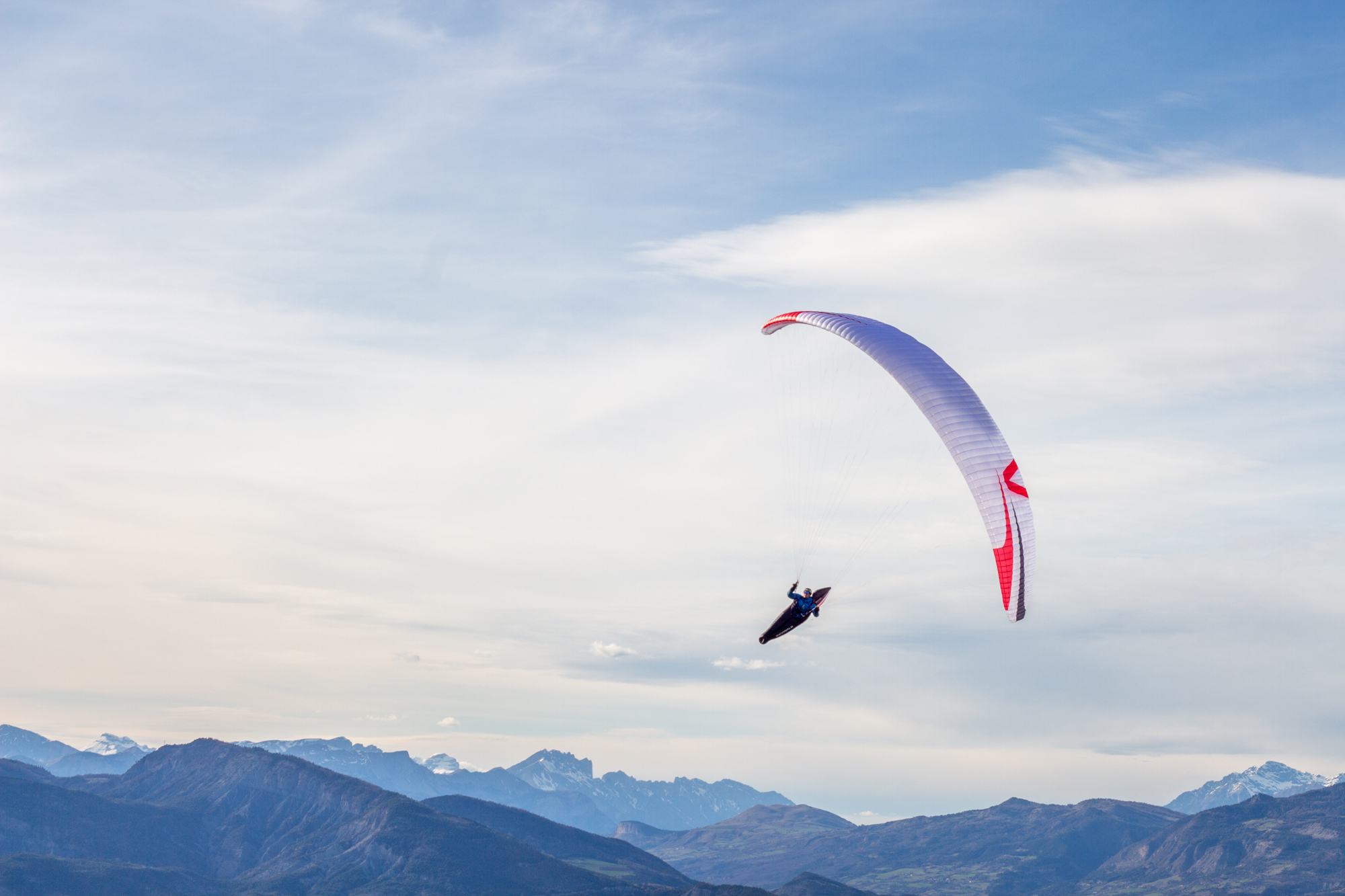 Skywalk Francois Ragolski paraglider X-Alpes 2