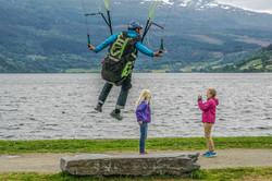 Ekstremsportveko Voss Norway Francois Ragolski Girls picture minigolf