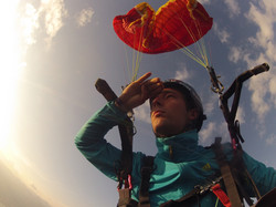 Looking for freedom Francois Ragolski colaps paragliding