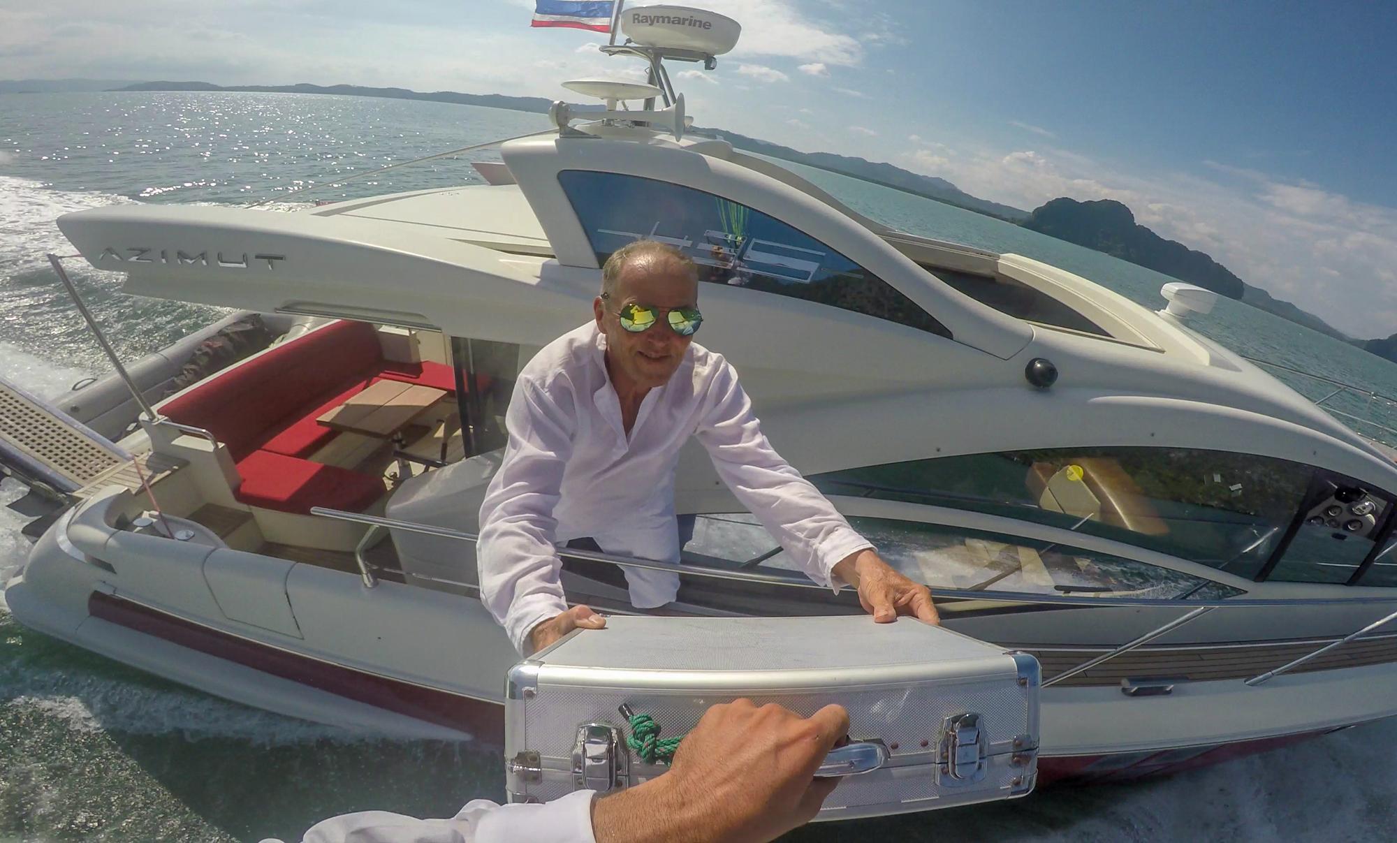 Don't Try This at Home James Bond Martin Schricke Francois Ragolski Jetski paragliding yacht Jean Yv