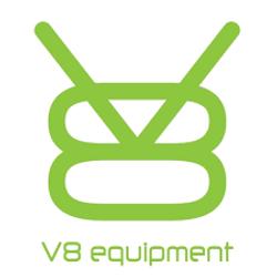 Logo V8 vert