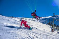 Chabanon Parapente snowboard ski Alex giraud Francois Ragolski