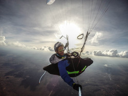 Brazil quixada expe parapente 330km de vol sun Francois Ragolski
