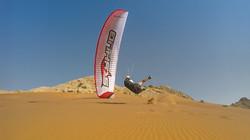 Paragliding sand dune Skyhub paramotors Dubai 13