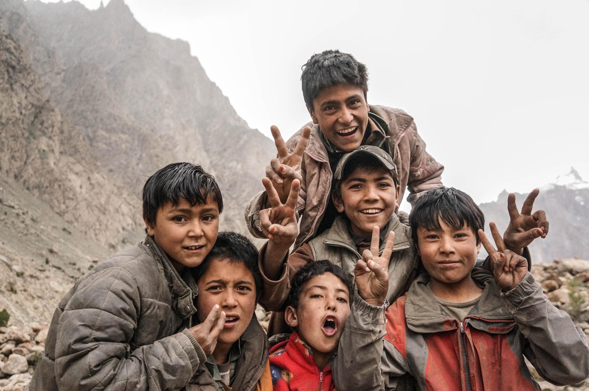 Pakistan expe Karakoram Ragolski Francois Ovcharov Veso Loncar Petar Shams Kids Hushe 2