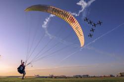 Dubai 2015 Jet Plane and teclib