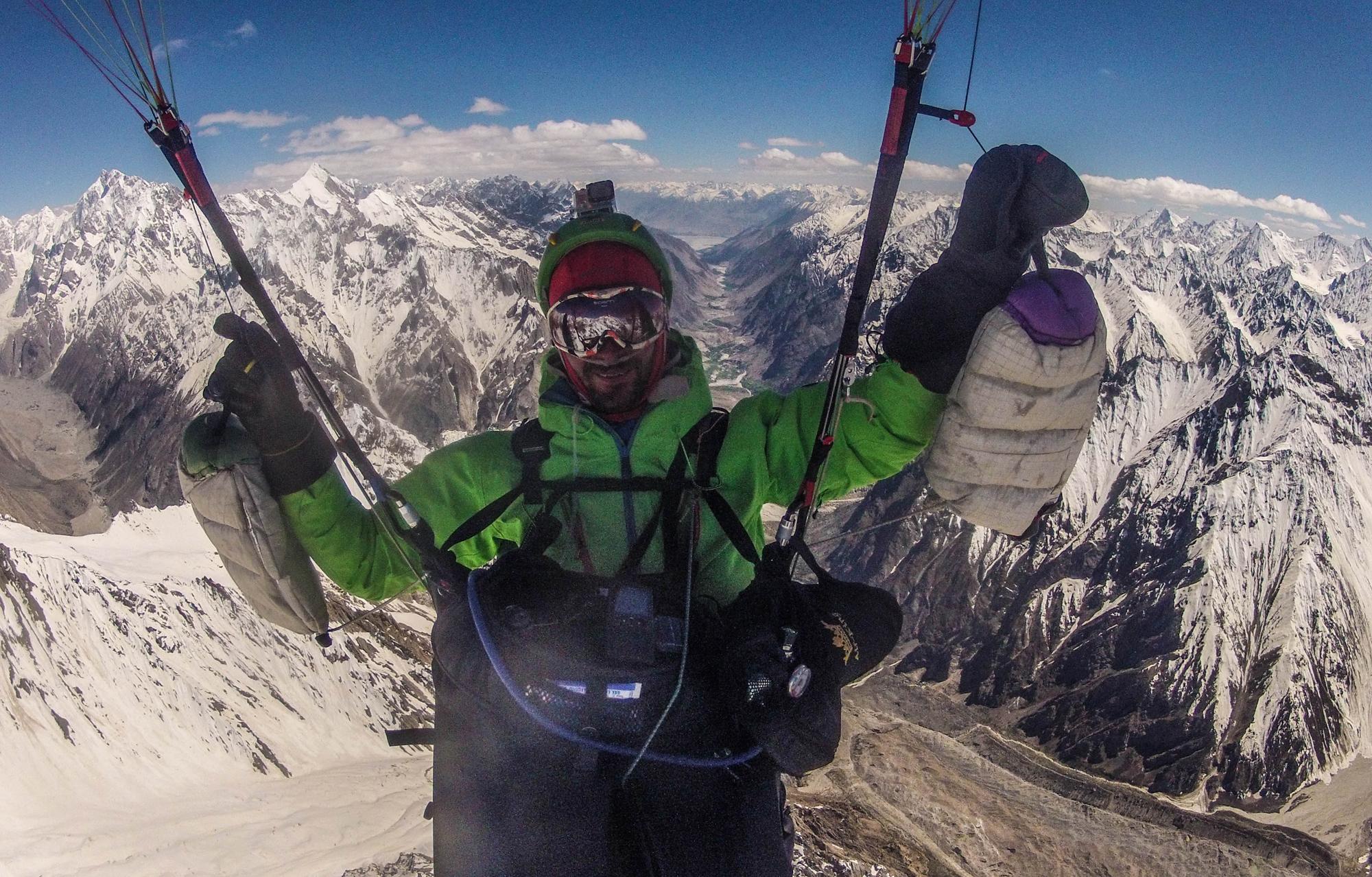 Pakistan expe Karakoram Ragolski Francois at 6500m