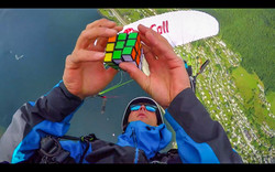 Rubixcub Paragliding Ragolski Francois infinity tumbling hand free