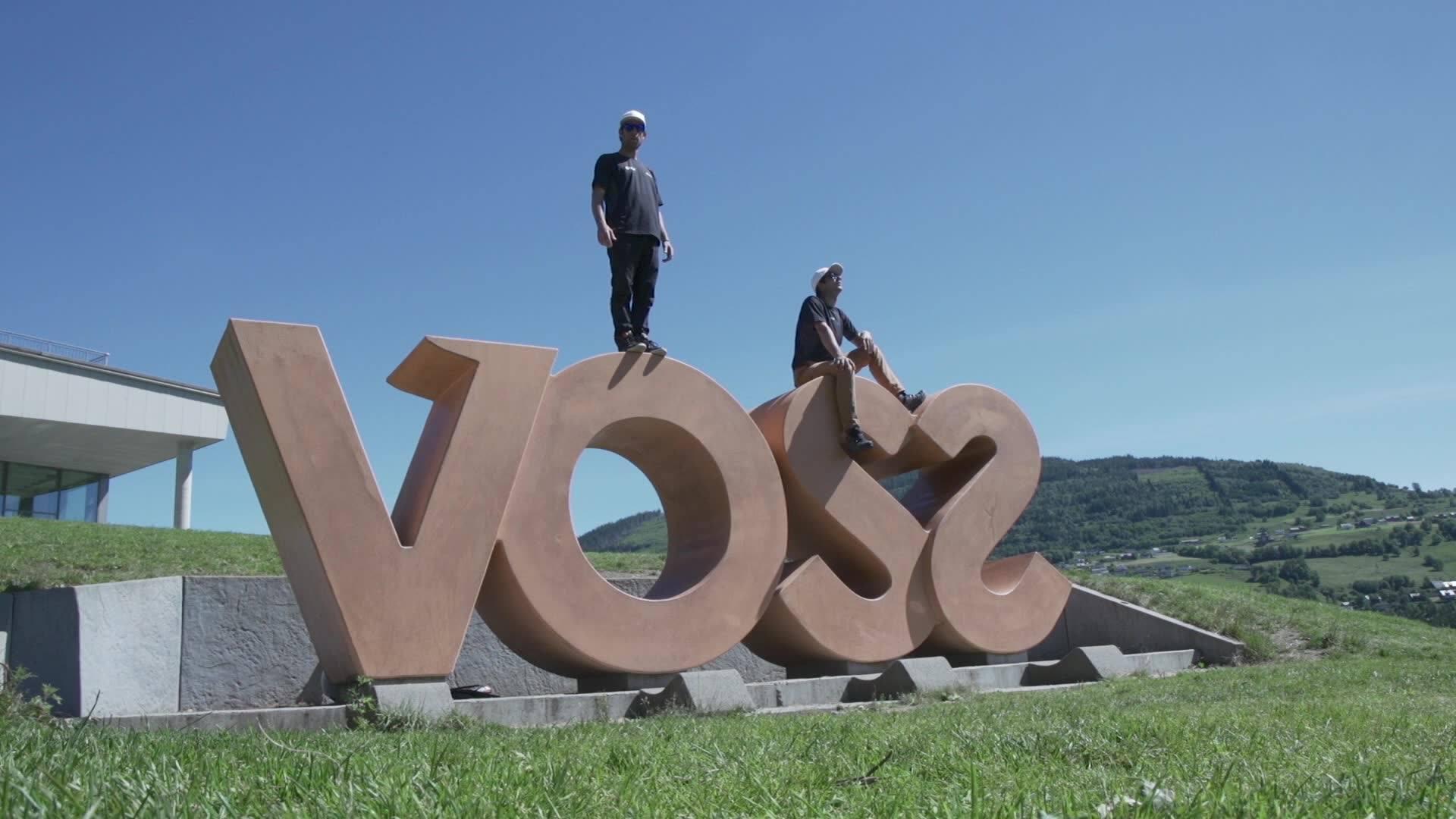 Martin Schricke & François Ragolski visiting Voss  Made by : Big Kids Cartel & Shams <3