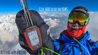 WORLD RECORD !!! 8225m the highest fly of the history !