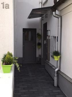 Der Eingang an der Marienstraße