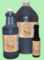 Photo of three sizes available of Olde Tyme New Orleans Double Strength French Vanilla