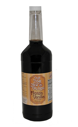 "32 fl.oz ""Olde Tyme New Orleans"" DBL Strength  French Vanilla"
