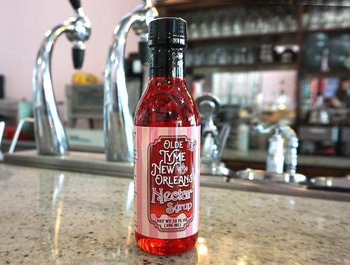 "10 fl.oz  ""Nectar Syrup""  Olde Tyme New Orleans Brand"