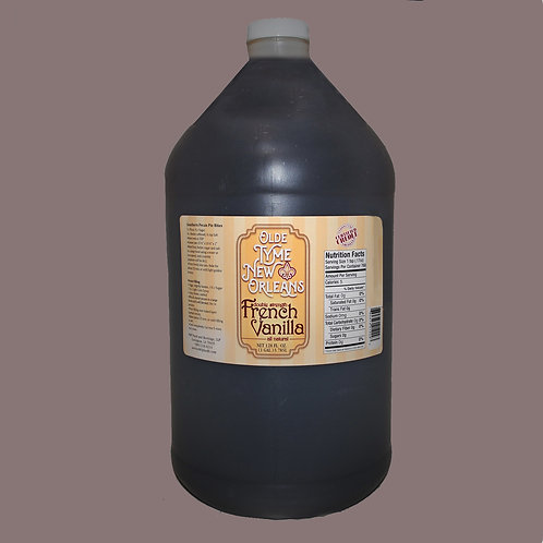 """Gallon """"Olde Tyme New Orleans"""" DBL Strength Triple Fold French Vanilla"""