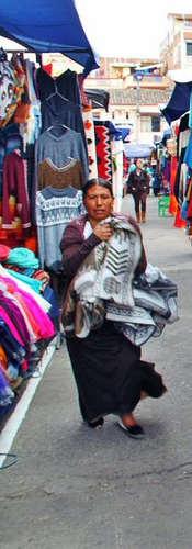 Mercado Indígena de Ponchos