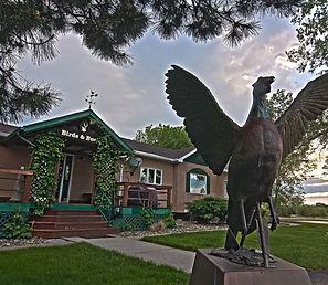 Pheasant hunting lodge in South Dakota