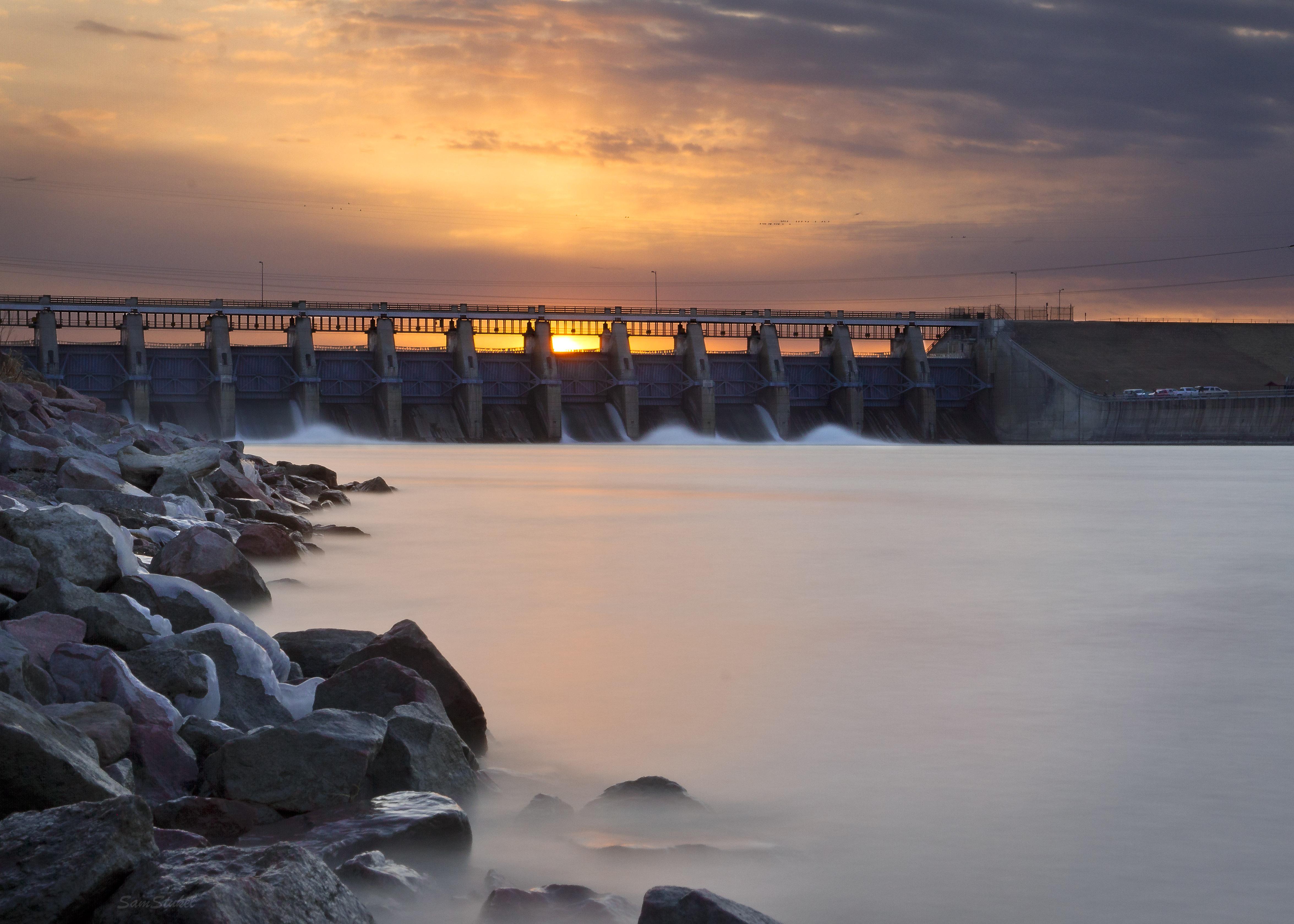 Gavins Point Dam evening