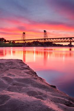 Meridian Bridge morning