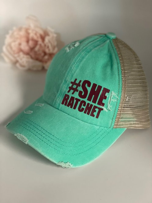"""She Ratchet"" Cap"