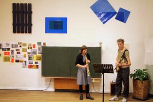 Conny Ottinger (sax), Helge Krause (b)