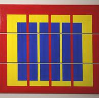 """"""" 3 blaue boards"""" , 2019"""