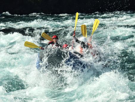 Hacer rafting por primera vez:  quitarse los miedos
