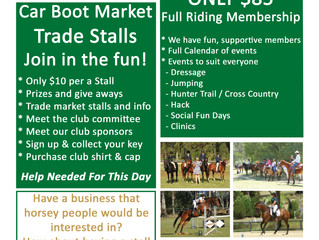 February 4th 8am-11am Sign on Day and Trade Market Stalls