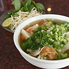 P12. Phở Chay - Vegetable Pho