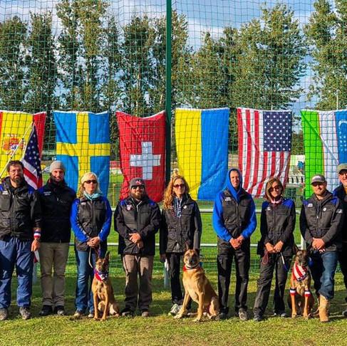 The US Mondioring Team