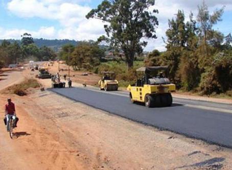 A new road between Harare and Victoria Falls, Zimbabwe