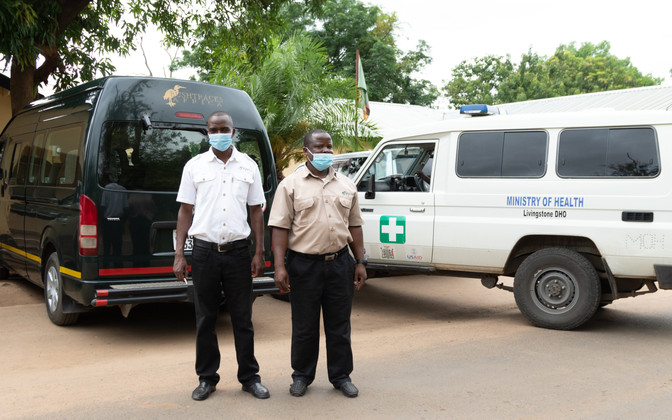 Bushtracks Africa partners with Prospero Zambia in COVID-19 response initiative