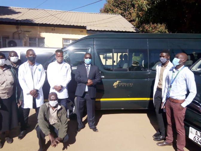 Bushtracks Africa partners with Prospero Zambia to assist in COVID-19 response