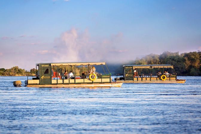 All Bushtracks River Safaris are travelling downstream again!