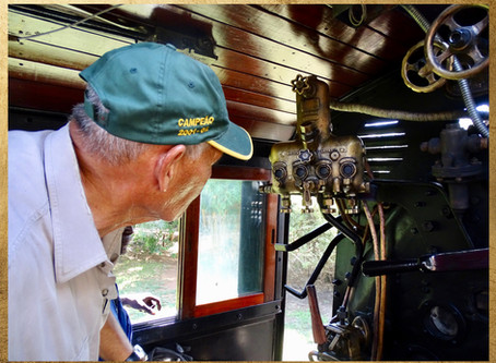 Ben Costa's story on the restoration of Loco 523