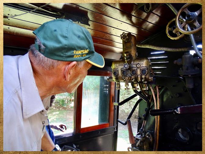 Ben Costa's story on the restoration of Loco 523