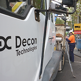 Decon working safely in melbourne