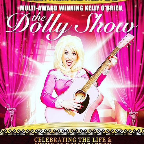 DOLLY PARTON Tribute. New Green Taverner's Suite. 10th April. Good Friday.