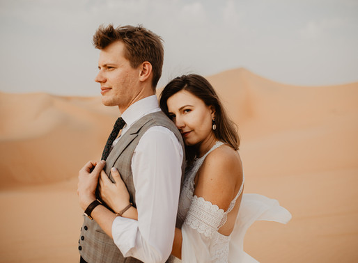Wymarzona sesja na pustyni | UAE