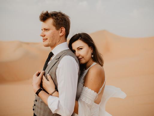 Wymarzona sesja na pustyni | Emiraty Arabskie